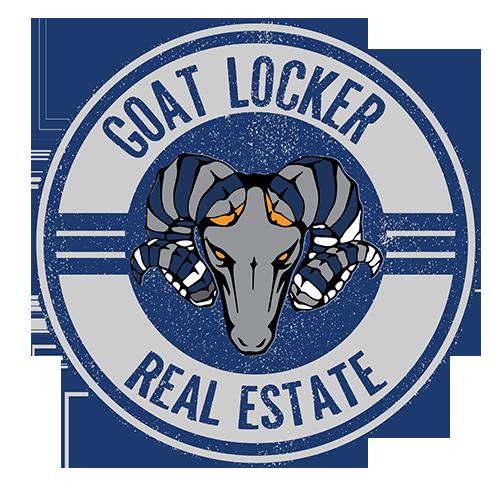 goat locker real estate logo